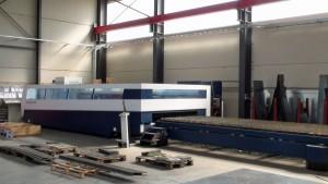 Trumpf Laser 5 kW Grösse 2000x6000mm Stahl bis 20mm Inox bis 20mm Alu bis 10mm